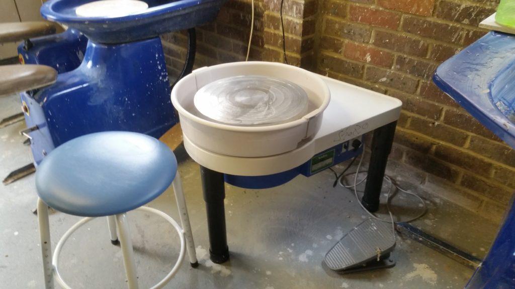 New Shimpo Whisper Wheel at Ceramic Intentions Studio